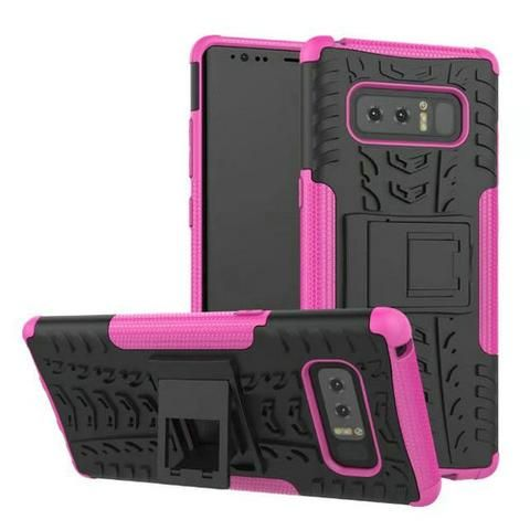 """For Samsung Galaxy Note 8 Cases Dirt Resistant Rugged Silicon Stand Back Armor 6.32"""" Phone Cases For Samsung Galaxy Note 8 N950F"""