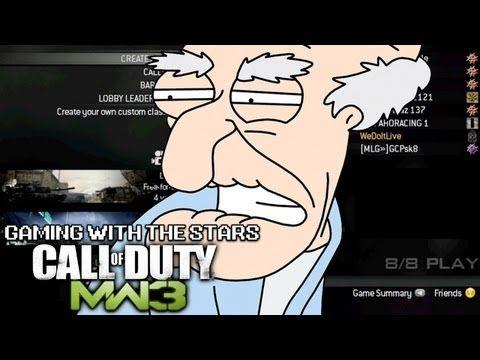 Gaming with the Stars – Herbert Plays Modern Warfare 3 (Family Guy) | YourTube