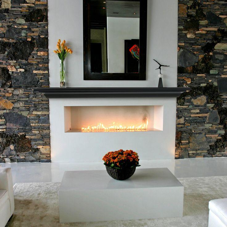 Pearl Mantels Crestwood Transitional Fireplace Mantel Shelf - 618-60