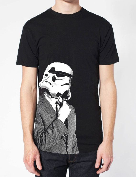 storm+troopers+SUIT+UP+T+Shirt+american+apparel+S+M+L+by+GeekyU1,+$19.99