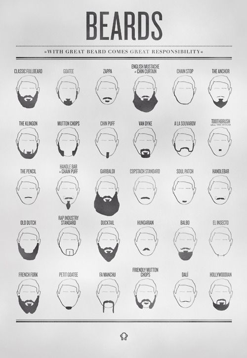 With great beard comes great responsibility...