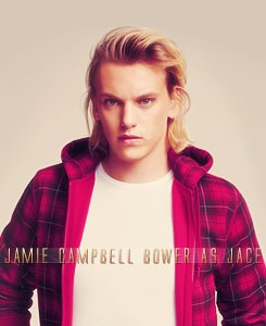 THE MORTAL INSTRUMENTS by Cassandra Clare| Jamie Campbell Bower as Jace Wayland.