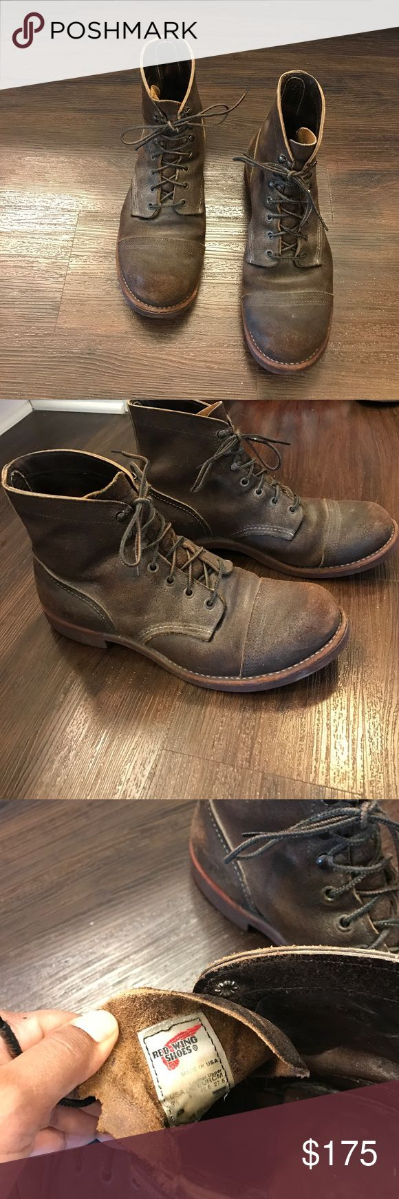 JCrew Red Wings Boots... JCrew Red Wings Boots... Red Wing Shoes Shoes Boots