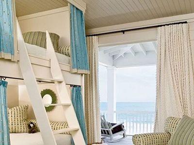 カーテン付き二段ベッド -子供用 ベッドまとめ