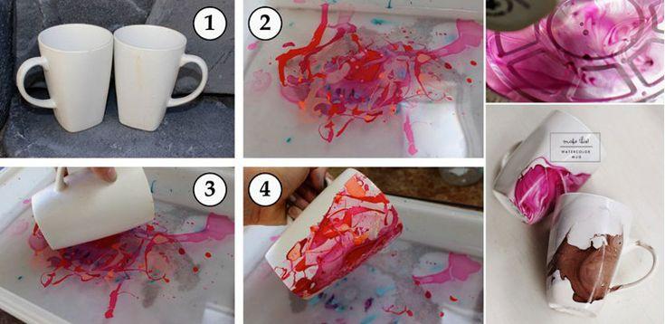 SUPERB | 10 idei pentru a realiza picturi interesante pe cani cu oja de unghii  http://ideipentrucasa.ro/10-idei-pentru-a-realiza-picturi-interesante-pe-cani-cu-oja-de-unghii/