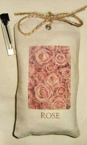 Саше с арома-капсулой, чайная роза