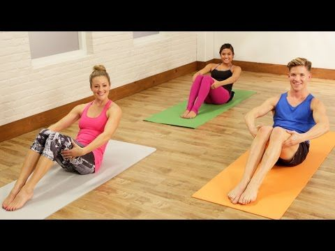 Just 10 minutes out of your day will bring you that much closer to a tighter tummy. Barre instructor Jake DuPree takes POPSUGAR Fitness host Anna Renderer th...