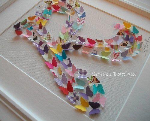 Schmetterlinge aus Papier schneiden, falten und Du hast eine wunderschöne Dekoration! 13 hübsche Ideen! - Seite 2 von 13 - DIY Bastelideen