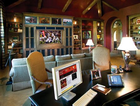 hi tech home office  high tech home office look  Beautiful Homes
