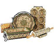 Temp-tations Sweet & Savory 10-piece Baking Set - K39454