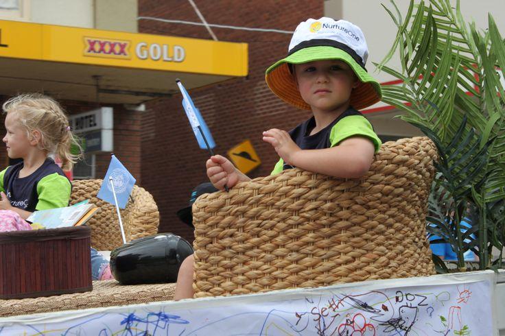 Cowra Parade celebrating the UN.