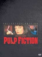 Pulp Fiction [PN1995.9.F54 P84 2002] The lives of two mob hit men, a boxer, a gangster's wife, and a pair of diner bandits intertwine in four tales of violence and redemption. Director:Quentin Tarantino Writers:Quentin Tarantino (story), Roger Avary (story), Stars:John Travolta, Samuel L. Jackson, Bruce Willis