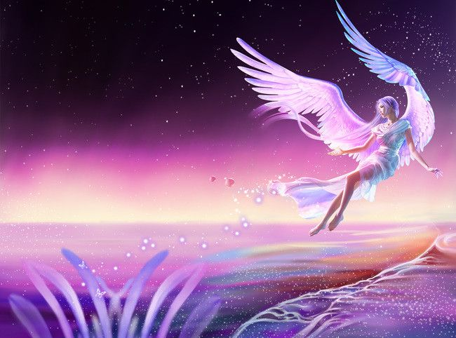 Beautiful Fantasy Angel Poster Background Psd Angel Posters Background Images Background