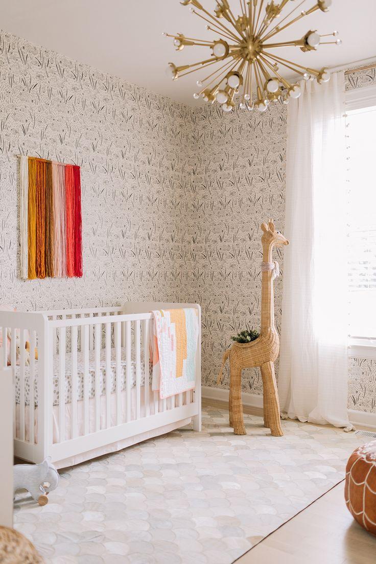 Elsie's nursery tour #baby #babyroom #babynursery #nursery #nurserydesign    – Nurseries