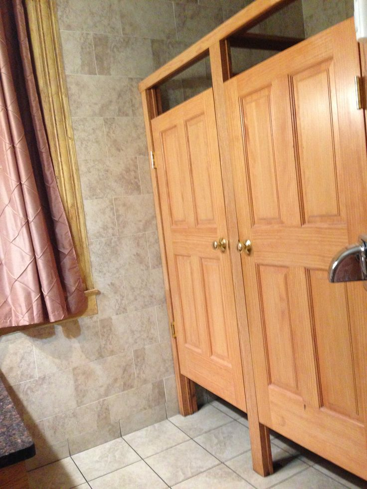 Bathroom Stall Wooden Doors And Stalls On Pinterest