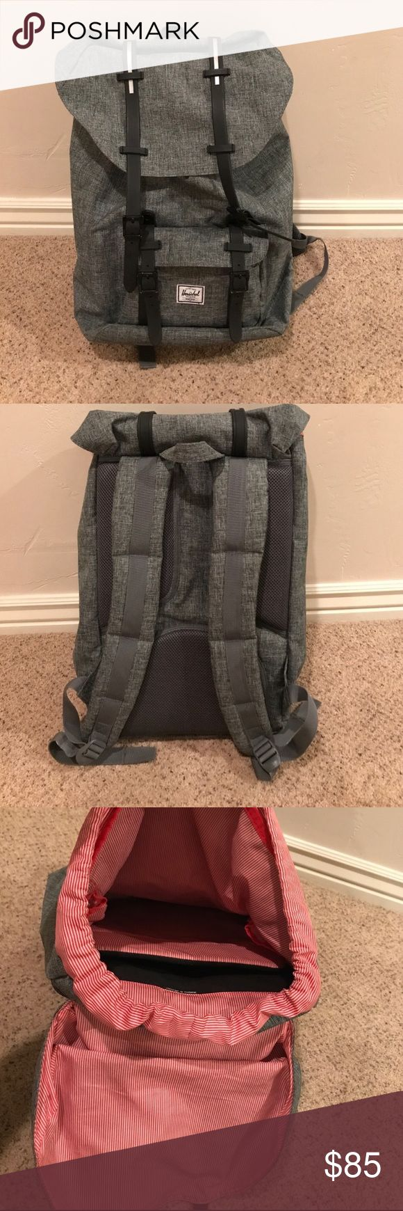 NWOT Herschel backpack Gently gently used!! Best backpack ever Herschel Supply Company Bags Backpacks