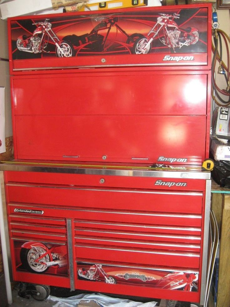 Limited Edition Snap On Orange County Choppers Tool Box