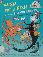 """Ocean Theme:  We read """"Wish for a Fish""""  This book is all about the different levels of the ocean and what type of animals live there.  A, Bee, C, Preschool"""