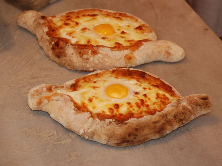 Khachapuri- had this at Georgian restaurant in Kiev- accurately described as a calorie injection-