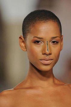 bald head black women - Sök på Google