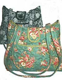 Rose - Seven Pocket Wonder Quilted Purse Pattern *