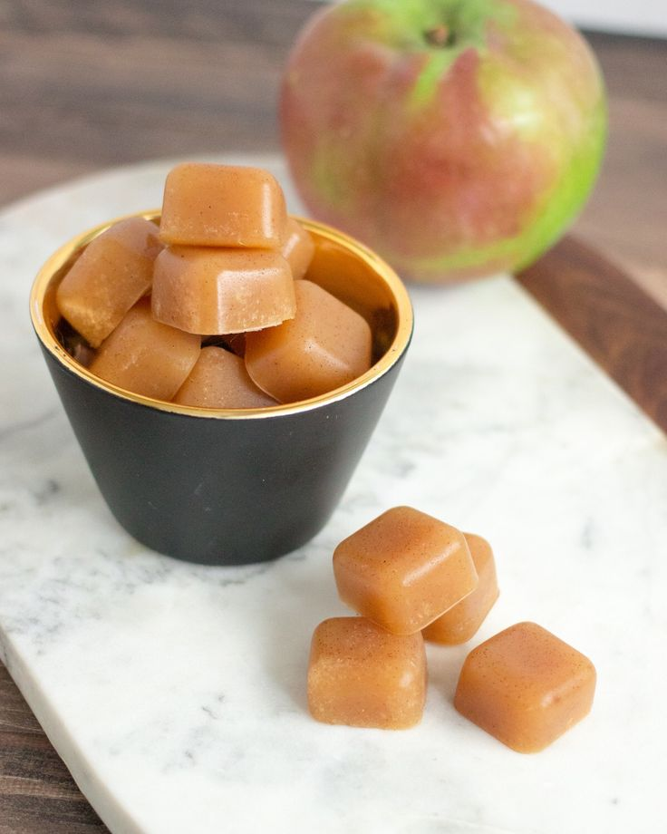 Apple and pumpkin pie spice are a match made in heaven.  Mix them together with our flavorless Beef Gelatin and you've got some seriously delicious (healthful) gummies.