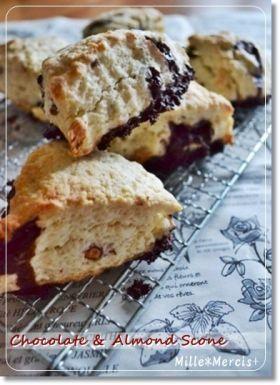 「【バレンタイン】チョコのワイルドスコーン」ひとみっち | お菓子・パンのレシピや作り方【corecle*コレクル】