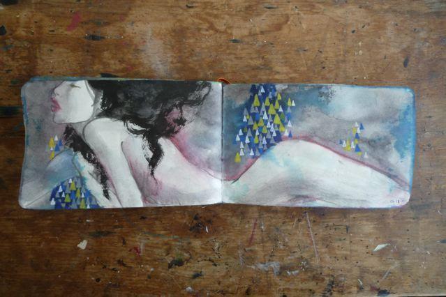 Stunning Sketchbook Art by Stella Im Hultberg (20 total) - My Modern Metropolis