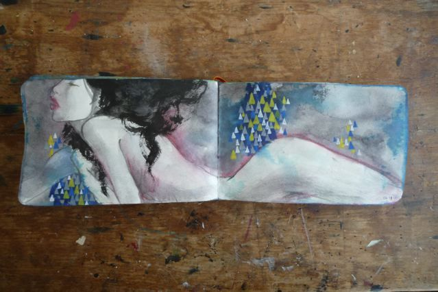 Stunning Sketchbook Art by Stella Im Hultberg (20 total) - My Modern Metropolis
