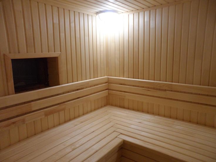 Монтаж бань и саун. Внутренняя отделка бани. Отделка парной
