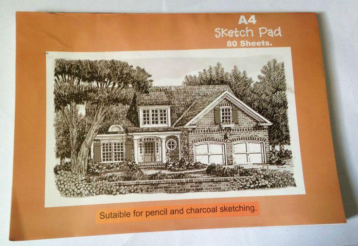 A4 Landscape Sketch Pad A4 80 Sheets