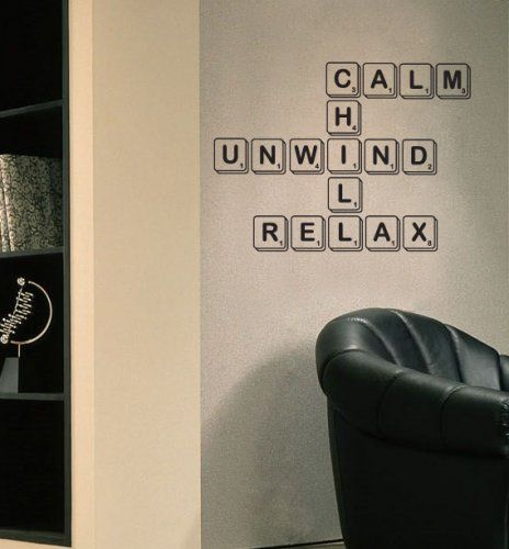 Scrabble anyone ? .. just a few words to calm the soul.