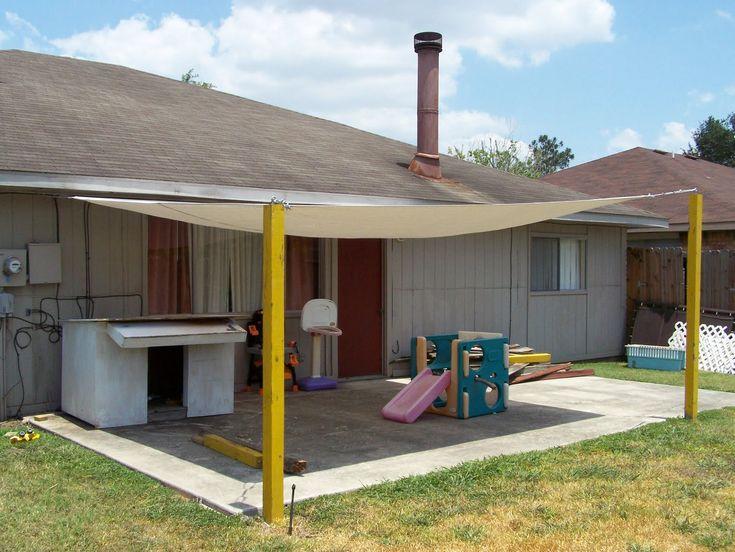 patio cover. awning/ tarp for shade. DIY