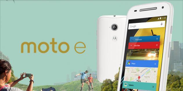 Vente flash : le Motorola Moto E 4G est à 99 euros au lieu de 139,90 euros - http://www.frandroid.com/marques/motorola/288707_vente-flash-le-motorola-moto-e-4g-est-a-99-euros-au-lieu-de-13990-euros  #Bonsplans, #Motorola, #Smartphones