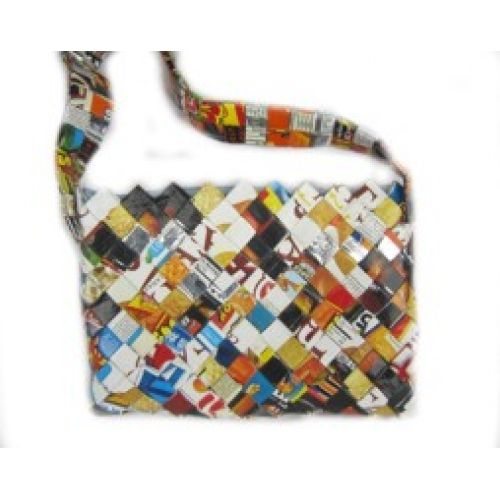 Recycled Candy Wrapper Bag