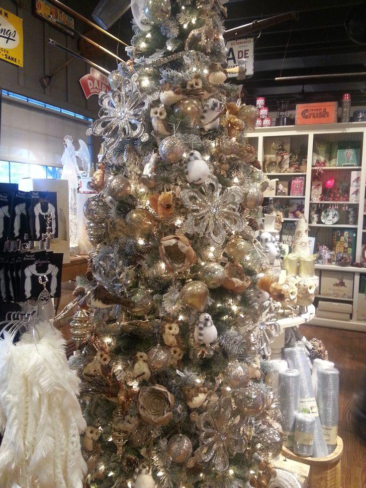Woodland Animal Christmas Tree In Cracker Barrel
