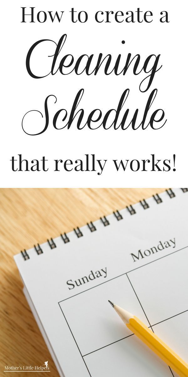 how to create a cleaning schedule that really works mom blogs to