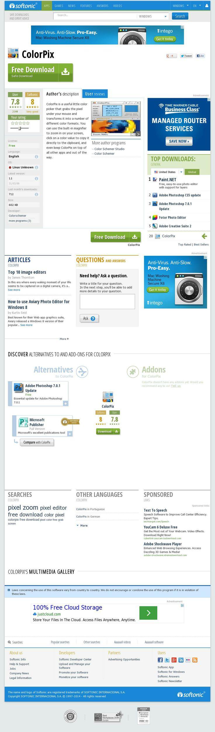 Color picker online upload image - The Website Http Colorpix En Softonic Com Color Pickercheat