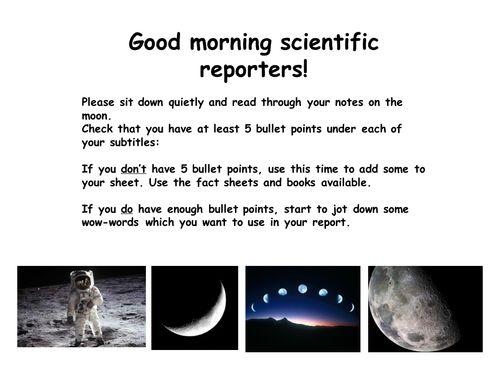 KS2 Non-chronological report writing