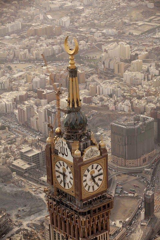 "Descubre Tu Mundo : Arquitectura: megatorre ""Makkah Royal Clock Tower Hotel"" La Meca - Arabia Saudita"