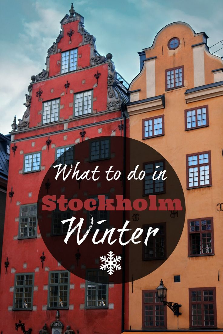 Travel tips and what to do in Stockholm. Top attractions in Stockholm, where to stay and places to visit in 3 days or more. Enjoy the capital of Sweden even during the winter time. via @loveandroad
