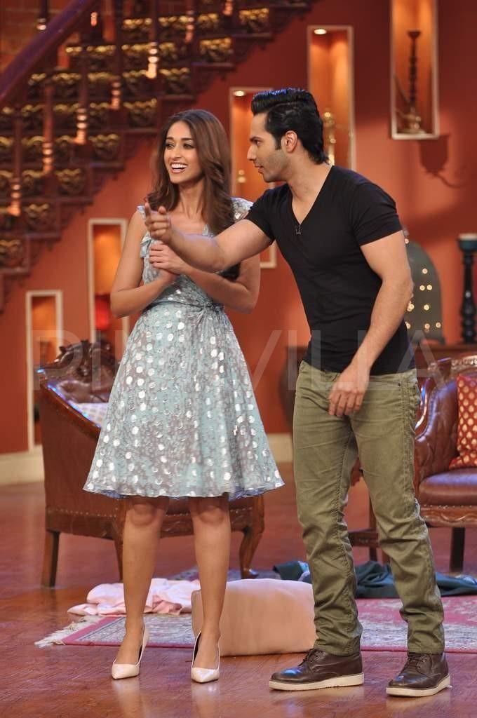 Varun Dhawan & Ileana D'Cruz on Comedy Nights with Kapil   PINKVILLA