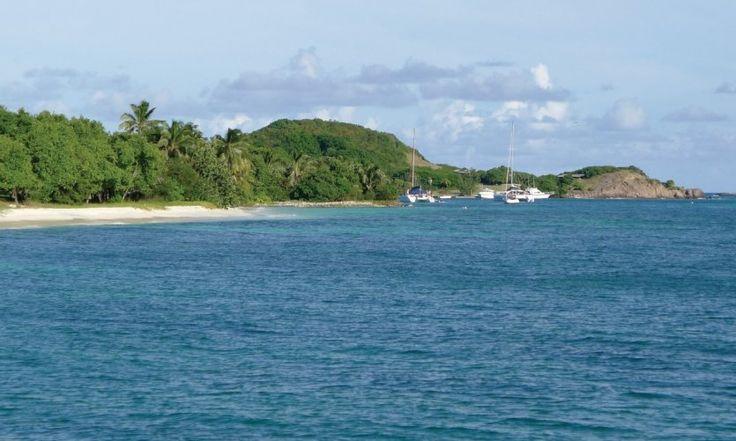 Mouillage à Petit-Saint-Vincent.//Saint-Vincent et les Grenadines