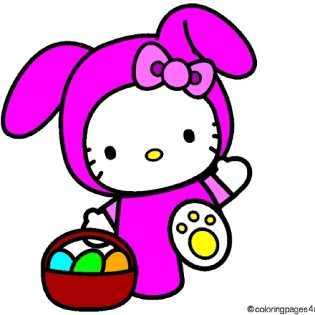 hello kitty easter wallpapers - photo #24
