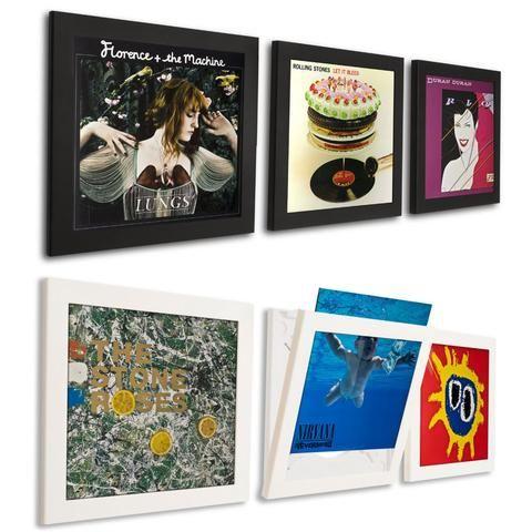 Art Vinyl: Play & Display Record Flip Frame - Triple Pack