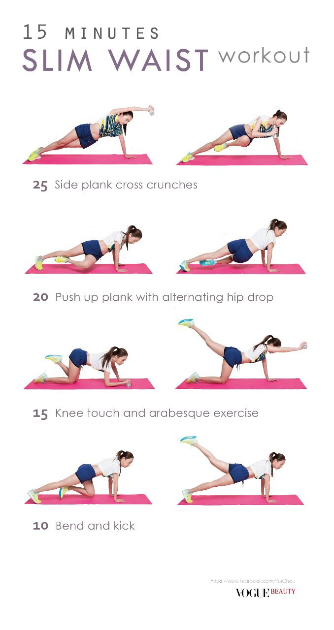 25+ best ideas about Slim waist workout on Pinterest ...