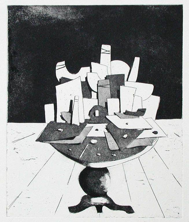 Francisco De la Puente - Grabado sobre papel