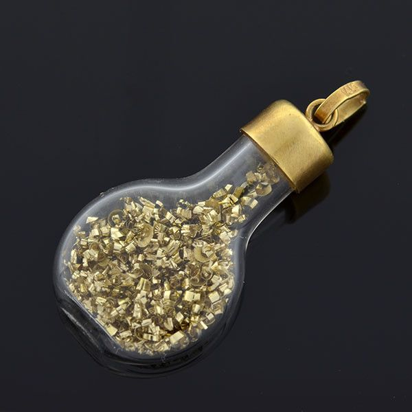 Little Flakes Of Real Gold Are Trapped Inside This