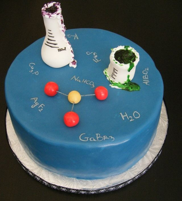 A Birthday Cake For A Chemistry Geek Medical Laboratory