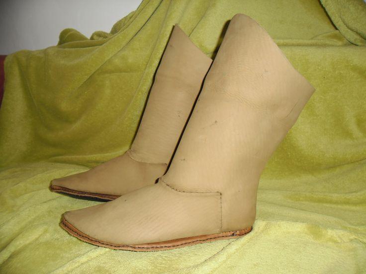Elegant medieval boots